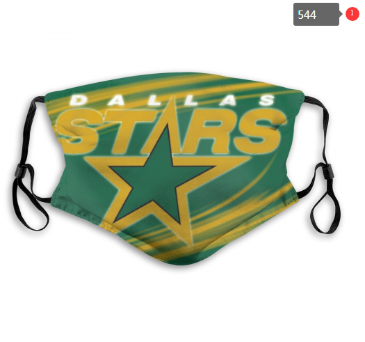 NHL Dallas Stars 3 Dust mask with filter