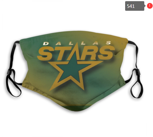 NHL Dallas Stars 6 Dust mask with filter
