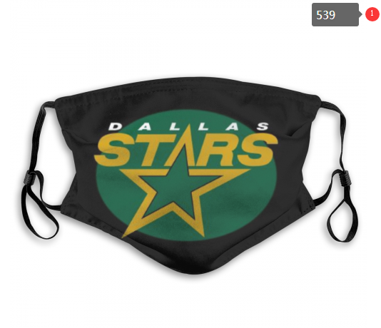 NHL Dallas Stars 8 Dust mask with filter
