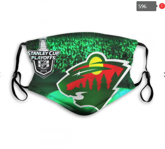 NHL Minnesota Wild 7 Dust mask with filter