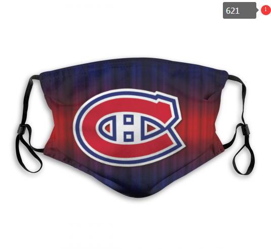 NHL Montreal Canadiens 1 Dust mask with filter