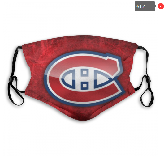 NHL Montreal Canadiens 10 Dust mask with filter