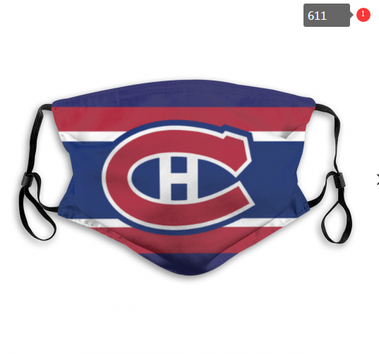 NHL Montreal Canadiens 11 Dust mask with filter