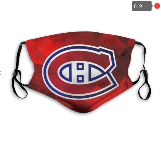 NHL Montreal Canadiens 3 Dust mask with filter