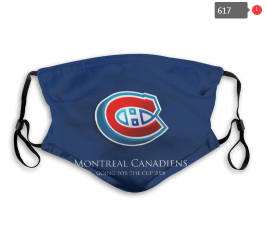NHL Montreal Canadiens 5 Dust mask with filter