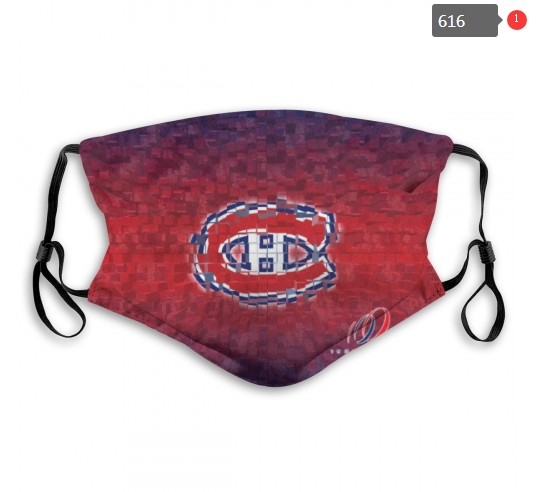 NHL Montreal Canadiens 6 Dust mask with filter