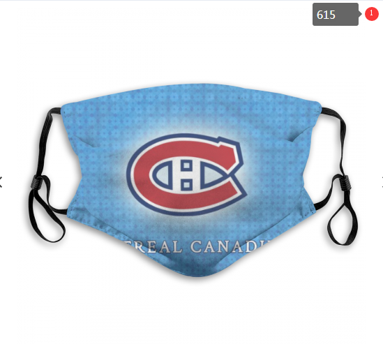 NHL Montreal Canadiens 7 Dust mask with filter