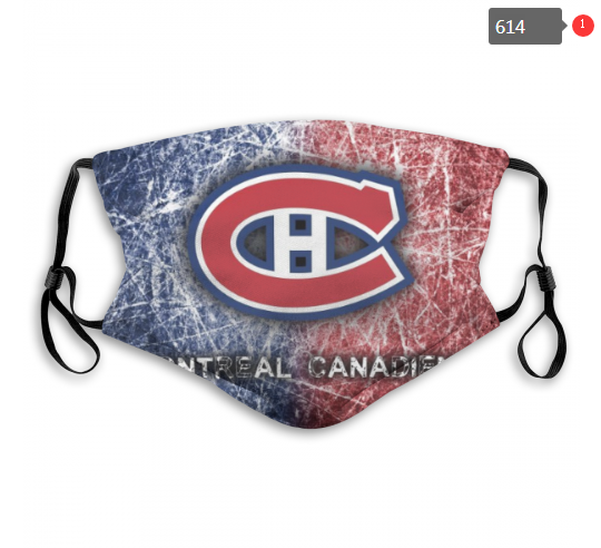 NHL Montreal Canadiens 8 Dust mask with filter