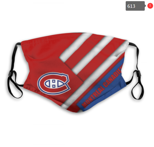 NHL Montreal Canadiens 9 Dust mask with filter
