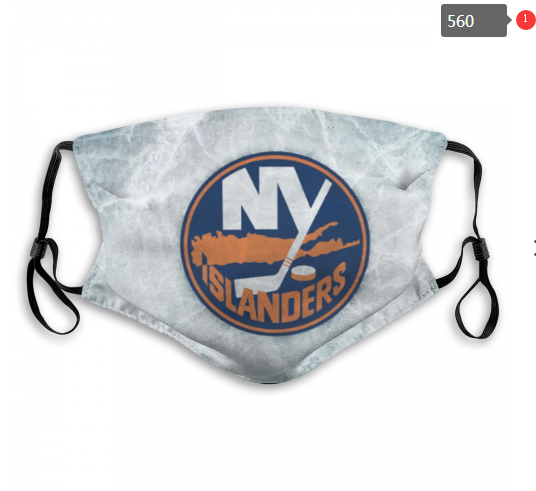 NHL NEW York Islanders 1 Dust mask with filter