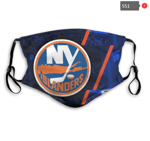 NHL NEW York Islanders 10 Dust mask with filter