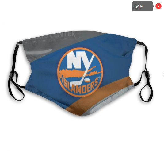 NHL NEW York Islanders 12 Dust mask with filter