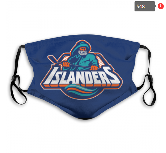 NHL NEW York Islanders 13 Dust mask with filter