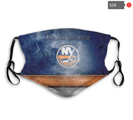 NHL NEW York Islanders 2 Dust mask with filter