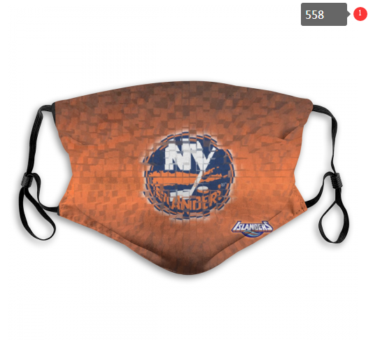 NHL NEW York Islanders 3 Dust mask with filter