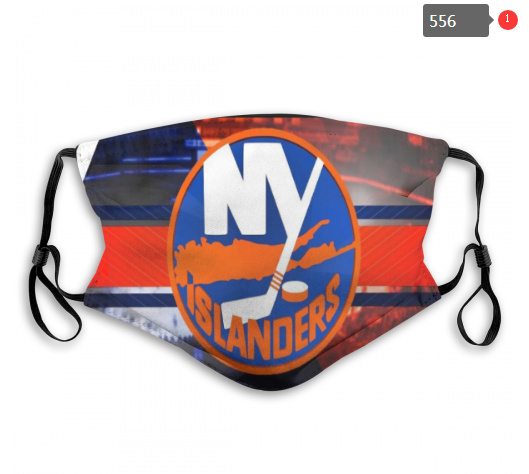 NHL NEW York Islanders 5 Dust mask with filter