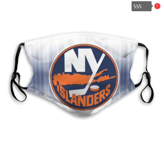NHL NEW York Islanders 6 Dust mask with filter