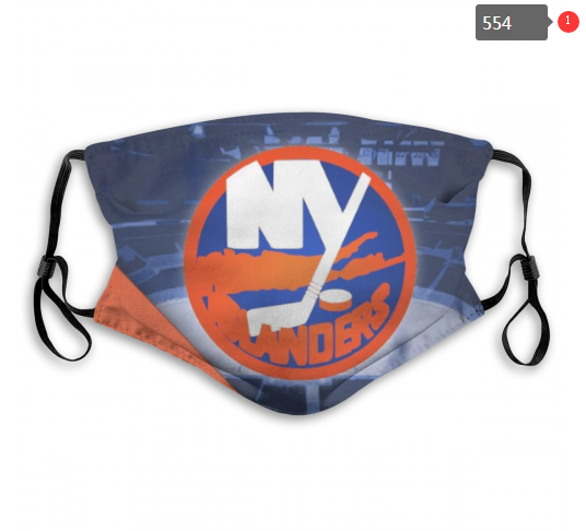 NHL NEW York Islanders 7 Dust mask with filter