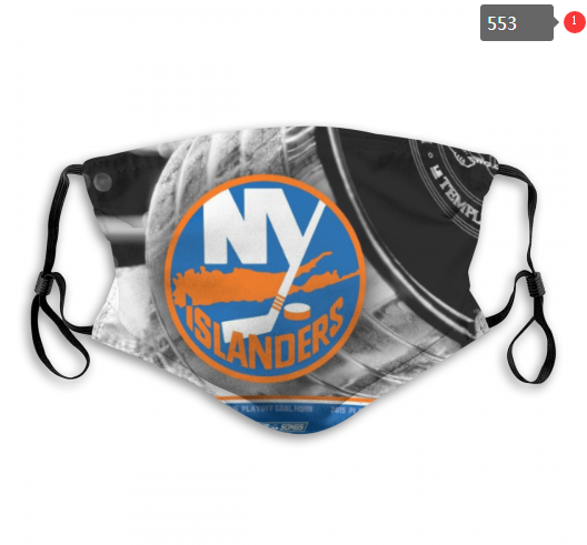 NHL NEW York Islanders 8 Dust mask with filter