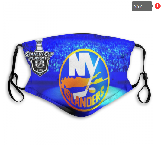 NHL NEW York Islanders 9 Dust mask with filter