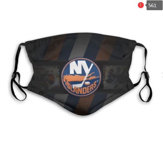 NHL NEW York Islanders Dust mask with filter