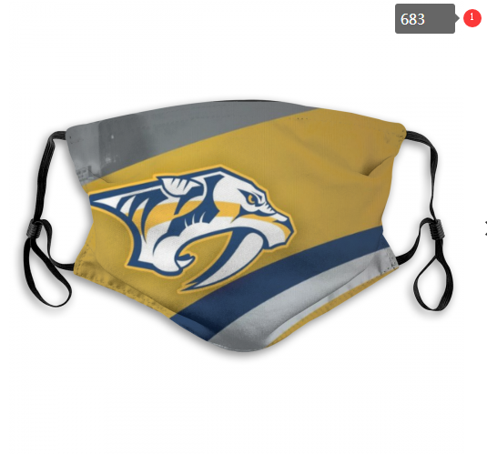 NHL Nashville Predators 7 Dust mask with filter
