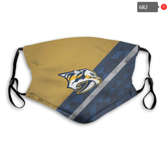 NHL Nashville Predators 8 Dust mask with filter