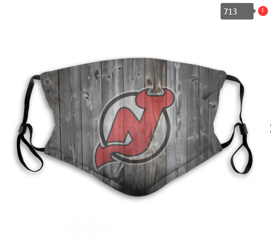 NHL New Jersey Devils Dust mask with filter