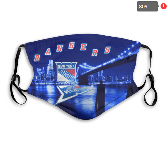 NHL New York Rangers 1 Dust mask with filter