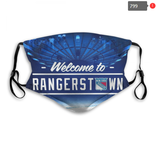 NHL New York Rangers 11 Dust mask with filter