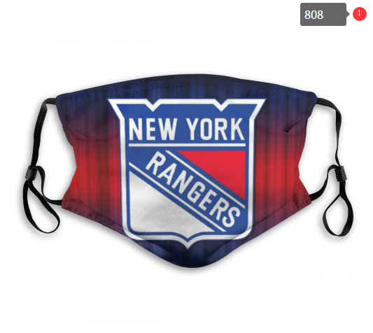 NHL New York Rangers 2 Dust mask with filter
