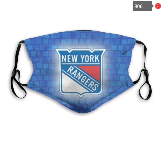 NHL New York Rangers 4 Dust mask with filter