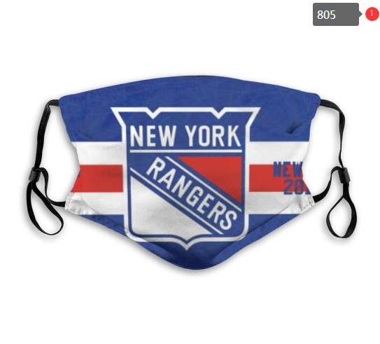NHL New York Rangers 5 Dust mask with filter