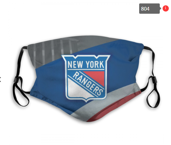NHL New York Rangers 6 Dust mask with filter