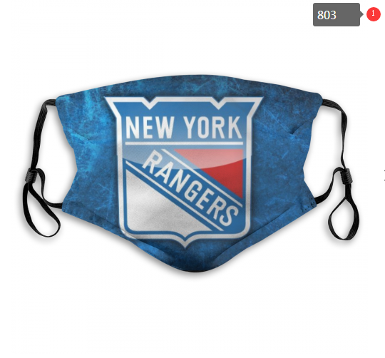 NHL New York Rangers 7 Dust mask with filter