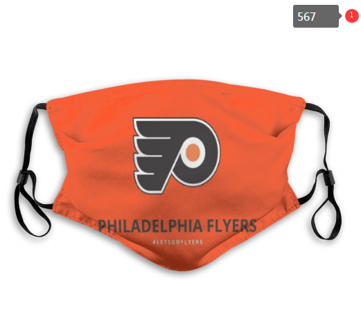 NHL Philadelphia Flyers 10 Dust mask with filter