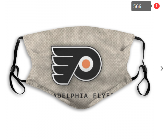 NHL Philadelphia Flyers 11 Dust mask with filter
