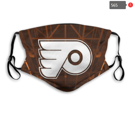 NHL Philadelphia Flyers 12 Dust mask with filter