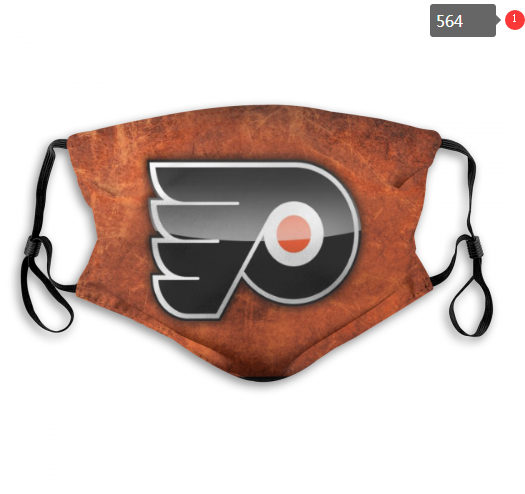 NHL Philadelphia Flyers 13 Dust mask with filter