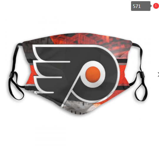 NHL Philadelphia Flyers 6 Dust mask with filter