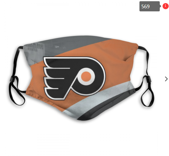 NHL Philadelphia Flyers 8 Dust mask with filter