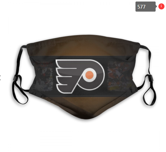 NHL Philadelphia Flyers Dust mask with filter