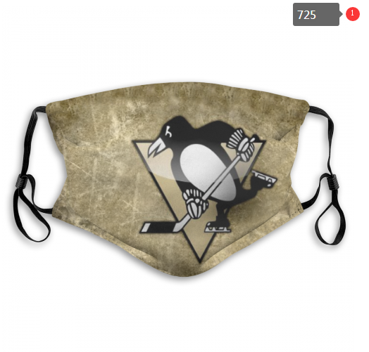NHL Pittsburgh Penguins 10 Dust mask with filter