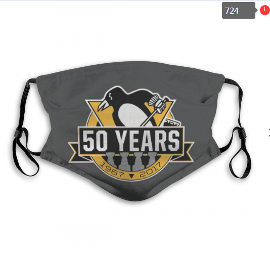 NHL Pittsburgh Penguins 11 Dust mask with filter