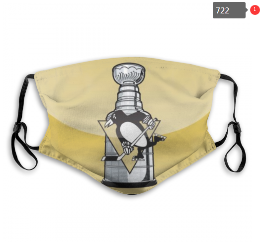 NHL Pittsburgh Penguins 13 Dust mask with filter