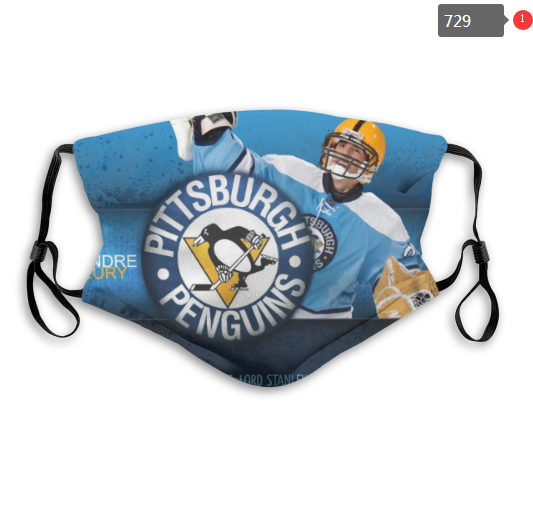 NHL Pittsburgh Penguins 6 Dust mask with filter
