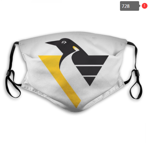 NHL Pittsburgh Penguins 7 Dust mask with filter