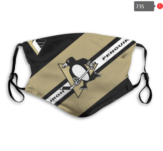 NHL Pittsburgh Penguins Dust mask with filter