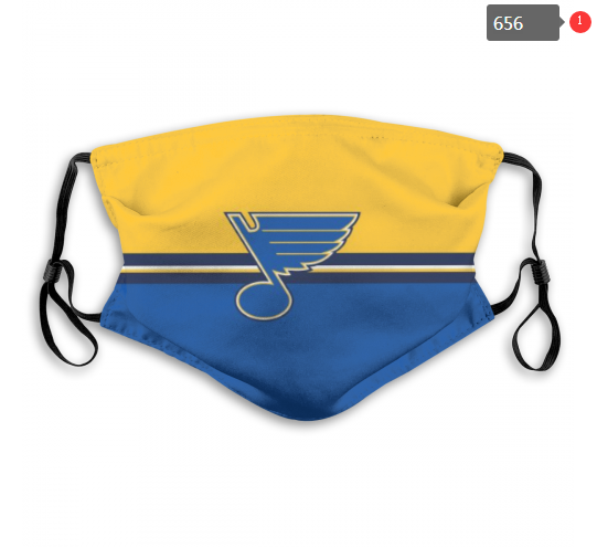 NHL St.Louis Blues 10 Dust mask with filter