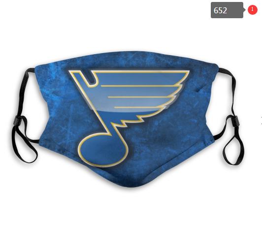 NHL St.Louis Blues 14 Dust mask with filter